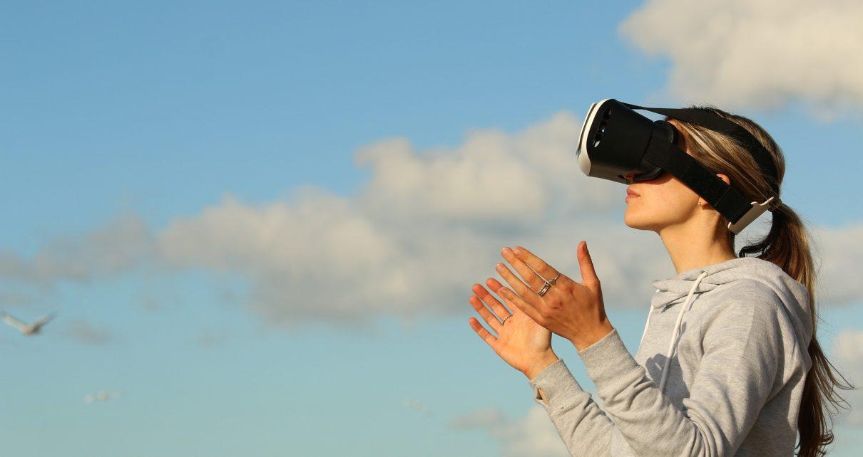 VRでスポーツも楽しめる画像